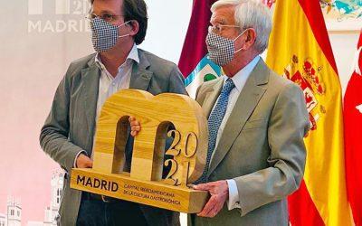Madrid 2020-2021, escenario de la gastronomía iberoamericana