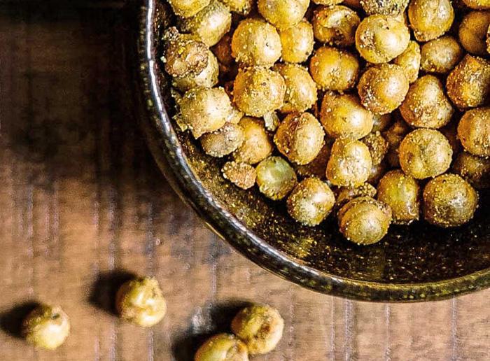 Receta Simplicity: Garbanzos tostados con miel y curry