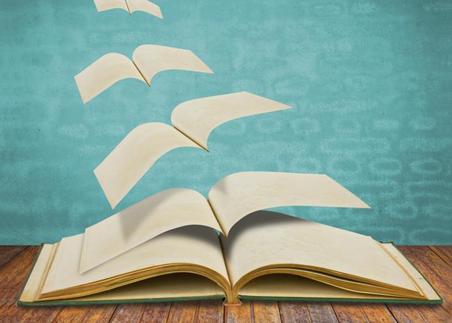 Los libros alimentan el espíritu y el cuerpo